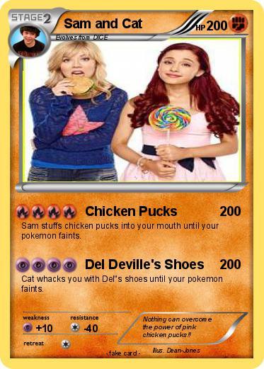 Pokmon Sam And Cat 10 Chicken Pucks My Pokemon Card