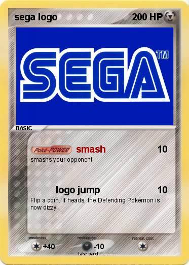 Pokemon Sega Logo