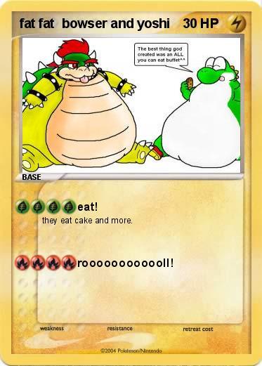 Pokemon fat fat bowser and yoshiYoshi And Bowser