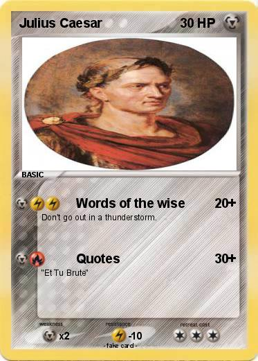 language in julius caesar Although julius caesar had a living son, caesarion (not officially acknowledged), caesarion was an egyptian, the son of queen cleopatra, so julius caesar adopted a great nephew, octavian, in his will octavian was to become the first roman emperor, augustus.