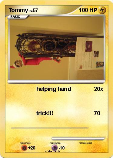 pok233mon tommy 470 470 helping hand my pokemon card