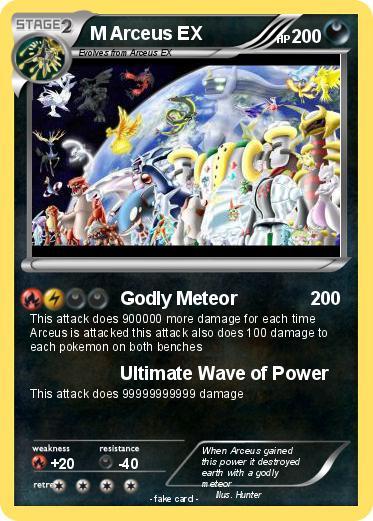 Pok mon m arceus ex 78 78 godly meteor my pokemon card - Pokemon arceus ex ...