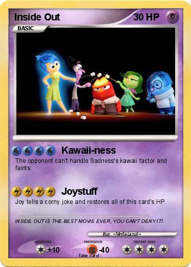 Pokémon Inside Out 5 5 - Kawaii-ness - My Pokemon Card