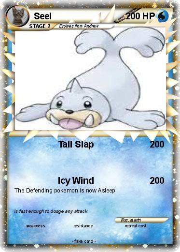 Pokemon Seel Evolution Images
