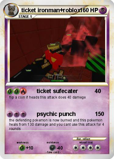 Pokemon Ticket Ironman Roblox