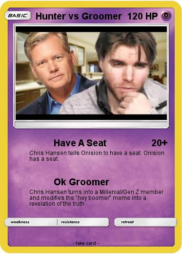 Pokemon Hunter Vs Groomer