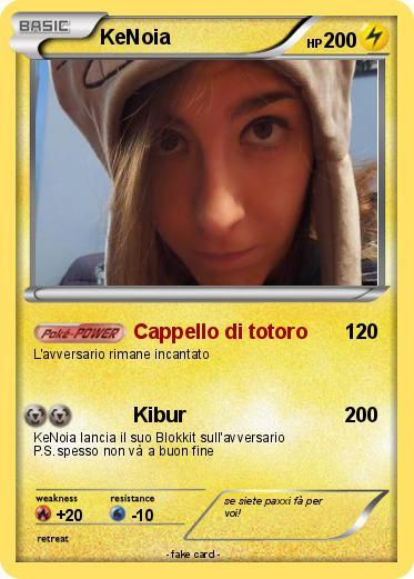 Pokmon KeNoia Cappello Di Totoro My Pokemon Card