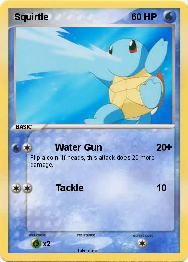 Squirtle Card 35