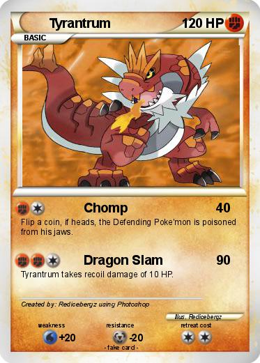 Pokemon Tyrantrum 15
