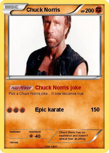 Pokémon Chuck Norris 3450 3450 - Chuck Norris joke - My ...