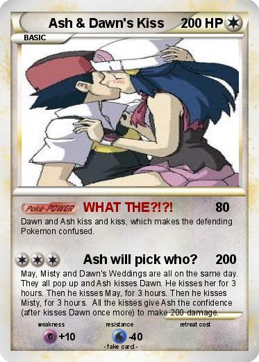 Ash Dawn Pokemon http://www.mypokecard.com/en/Gallery/Pokemon-Ash-Dawn-s-Kiss