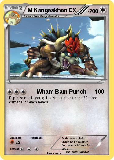 Pokemon M Kangaskhan Ex 2