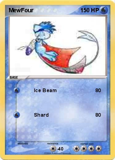 Mewfour Card