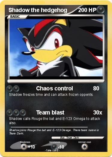 Pok mon shadow the hedgehog 205 205 chaos control my - Shadow the hedgehog pokemon ...