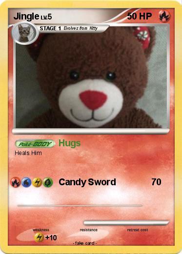 Pokémon Jingle 13 13 - Hugs - My Pokemon Card