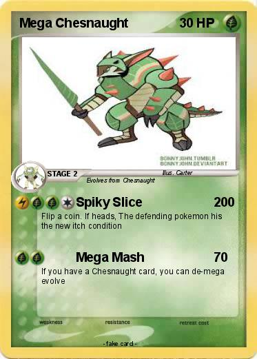 Mega Chesnaught by kyurem2424 on DeviantArt