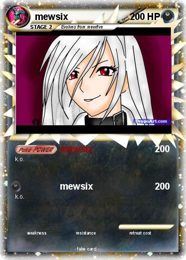 Pokémon mewsix 19 19 - mewsix - My Pokemon Card