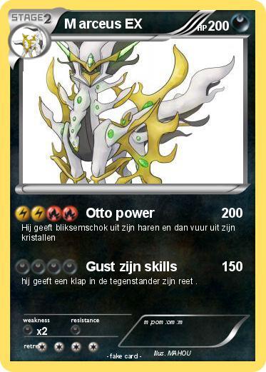 Pok mon m arceus ex 54 54 otto power my pokemon card - Pokemon arceus ex ...