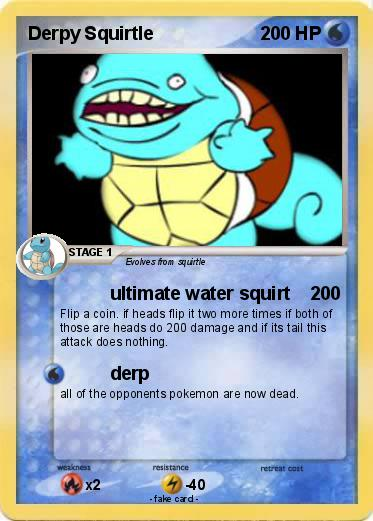 Pok mon derpy squirtle 18 18 ultimate water squirt my - Derpy squirtle ...