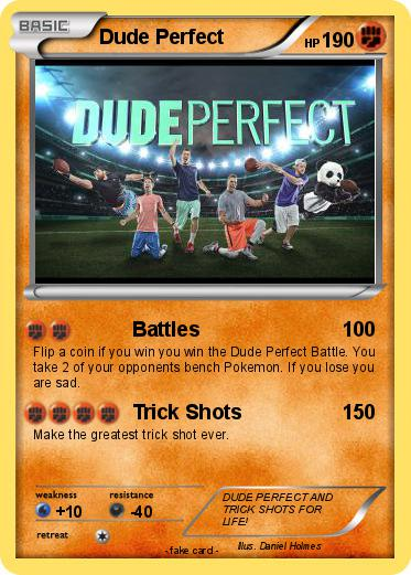 Pok mon dude perfect 13 13 battles my pokemon card for Dude perfect coloring pages