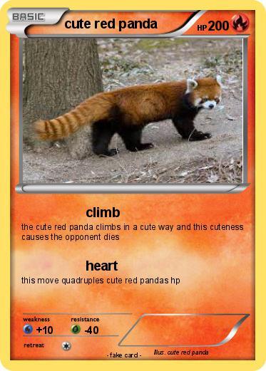 Pokemon Cute Red Panda 1