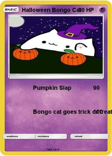 Pokemon Halloween Bongo Cat