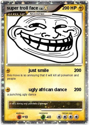 Pokémon Troll Face 230 230 - Epicness - My Pokemon Card