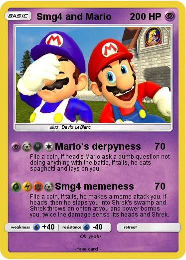 Pokemon Smg4 And Mario 1