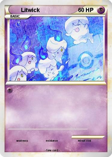 pokemon litwick coloring pages - photo#47