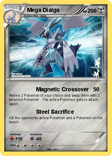 Pokémon Mega Dialga 69 69 - Magnetic Crossover - My ...