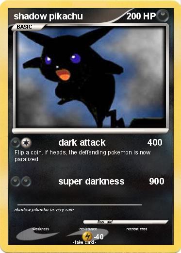 Pokemon Cards Pikachu Rare