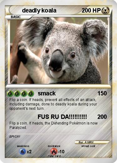deadly koala Gallery