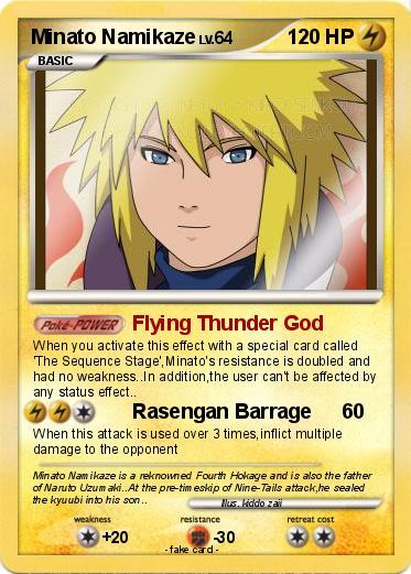 Minato Flying Thunder God