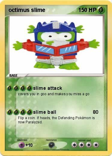 Pokémon octimus slime - slime attack - My Pokemon Card