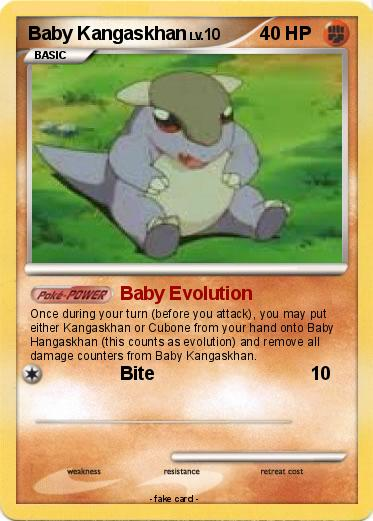 Baby Kangaskhan