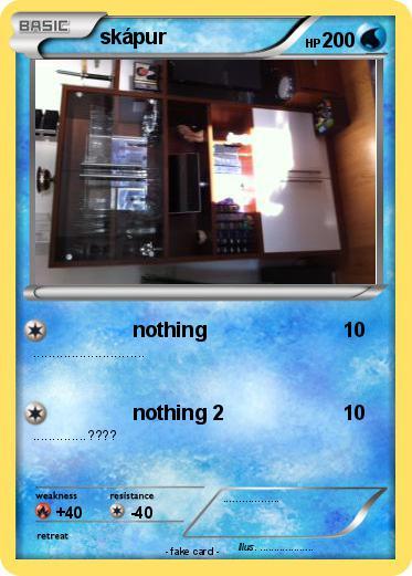 Pokémon skapur - nothing - My Pokemon Card: www.mypokecard.com/en/Gallery/Pokemon-skapur