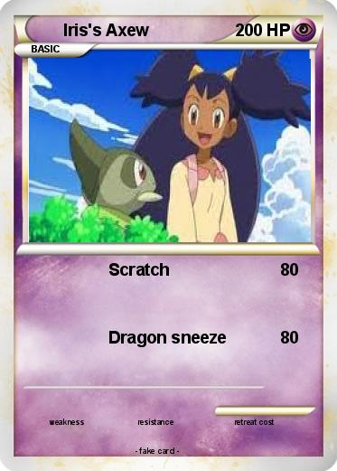 Iris Pokemon Card Images | Pokemon Images