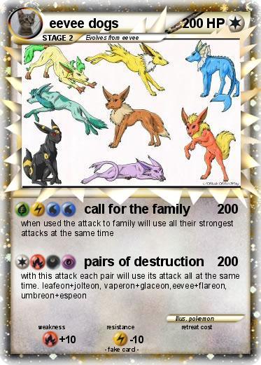 pokemon eevee dogs pokemon eevee dogs