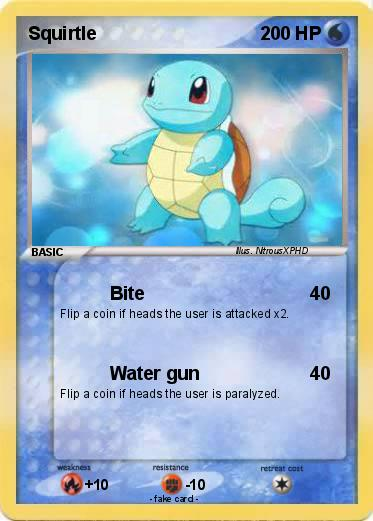 Squirtle Card 38