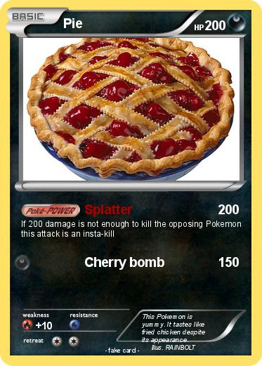 Pok 233 Mon Pie 402 402 Splatter My Pokemon Card