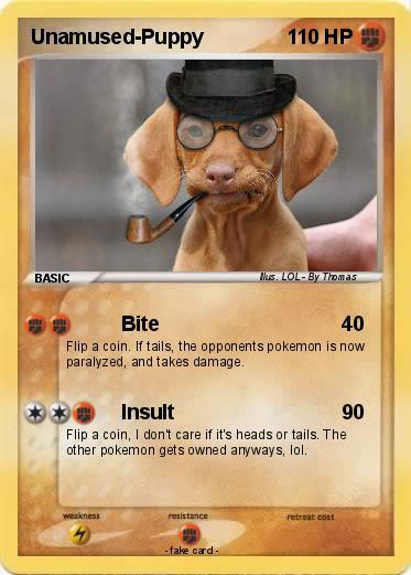 Pokemon Unamused-Puppy Unamused Puppy Meme