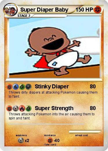 Pok 233 Mon Super Diaper Baby 2 2 Stinky Diaper My Pokemon