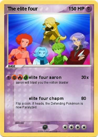 Pokemon Elite Four Images | Pokemon Images