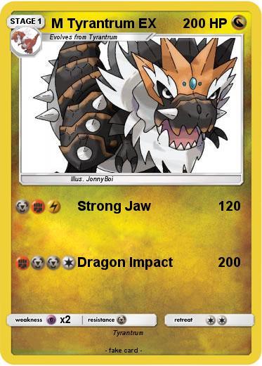 Pokemon M Tyrantrum Ex 13