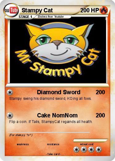 Pokemon Stampy Cat 18