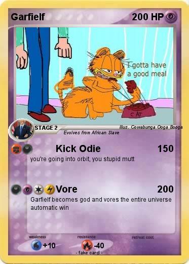 Pokemon Garfielf 9