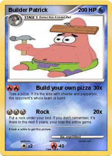 Make your own pokemon card create customize and design your own