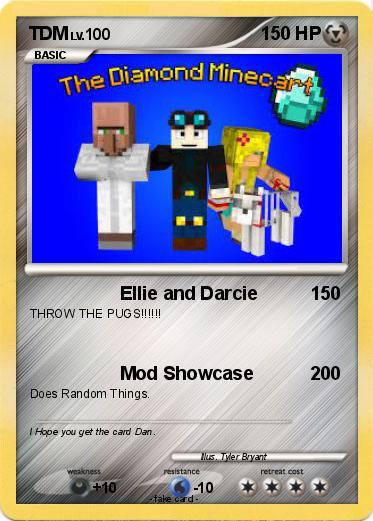 Pokmon TDM 12 Ellie And Darcie My Pokemon Card