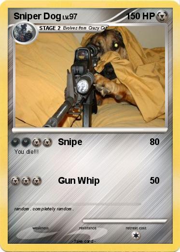 sniper dog Gallery