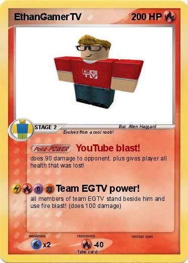 Pok mon ethangamertv 4 4 youtube blast my pokemon card - Mypokecard com ...